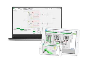 Plant SCADA_Mobile & destop screens