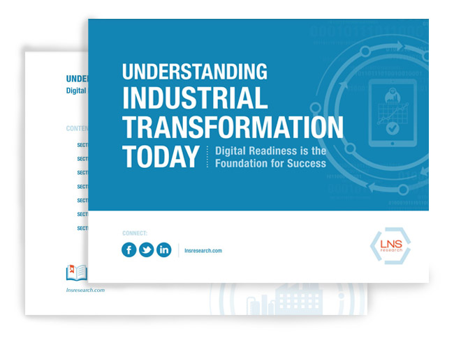 E-Book - Undertanding the Industrial Transformation Today by LNS Research